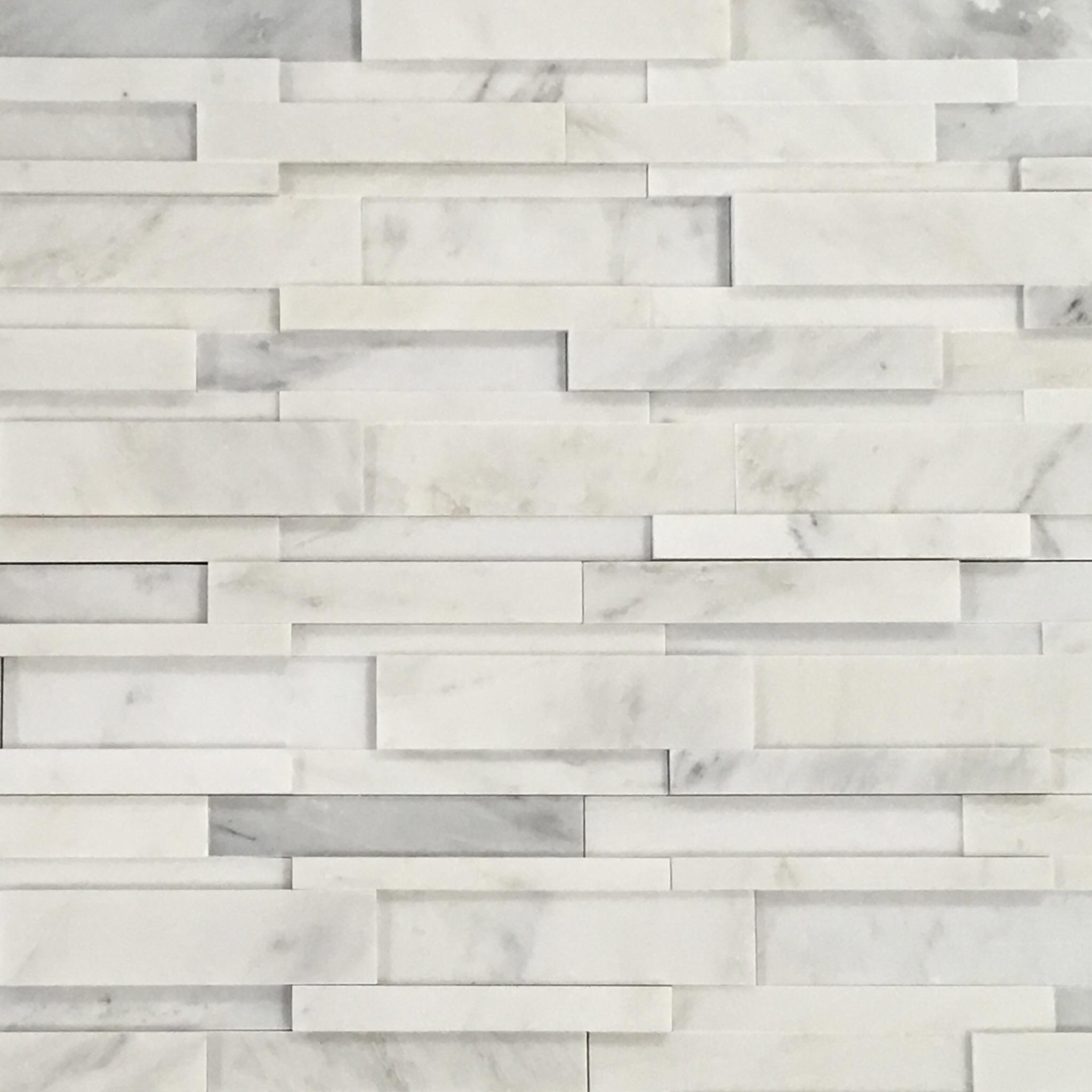 3d Random Brick Pacifica Stone